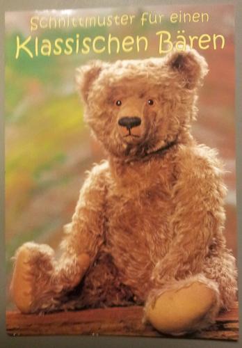 Schnittmuster für einen Klassischen Bären - haida-direct